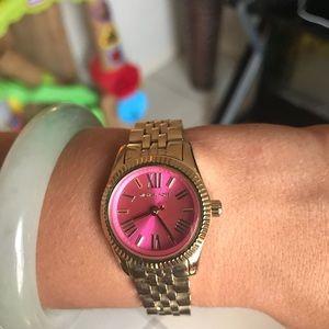 Mk Pink Watch like new